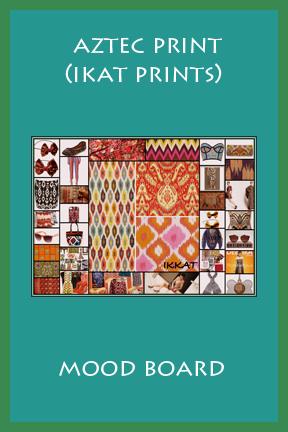 AZTEC PRINT (IKAT PRINTS)