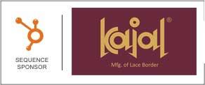 kajal lace border